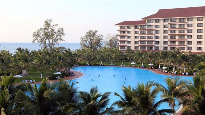 Một góc quần thể du lịch, nghỉ dưỡng Vinpearl Phú Quốc - Ảnh: Minh Khoa