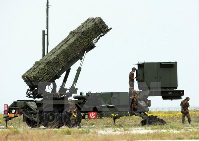 Tên lửa PAC-3 của Nhật Bản. (Nguồn: AFP/TTXVN)