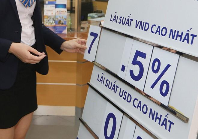 Lãi suất huy động tăng, nên lãi suất cho vay sẽ khó giảm