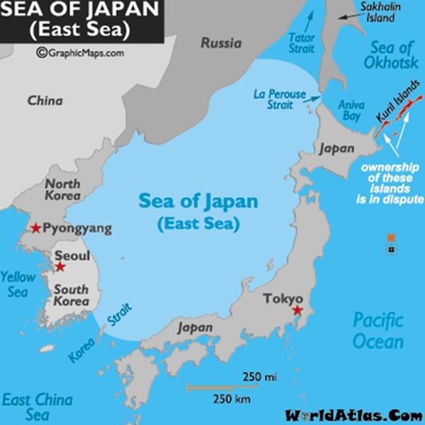 Trung Quốc tập trận ở biển Nhật Bản - ảnh 1