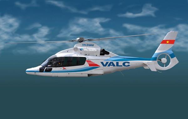 Ngoài cho thuê máy bay thương mại, VALC còn cung cấp dịch vụ với máy bay trực thăng.