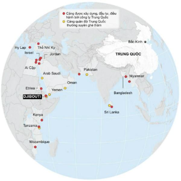 Trung Quốc tham vọng 'xưng hùng' với tiền đồn quân sự nước ngoài - ảnh 2