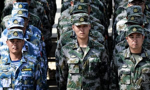 Các binh sĩ Trung Quốc. Ảnh: SCMP