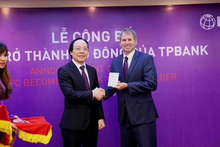 TPBank chính thức đón cổ đông ngoại IFC