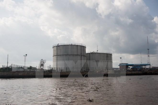 Kho trữ dầu ở Warri, bang Delta ngày 8/6. (Nguồn: AFP/TTXVN)