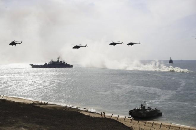 Cuộc tập trận phô diễn sức mạnh của Nga ở Crimea - ảnh 6