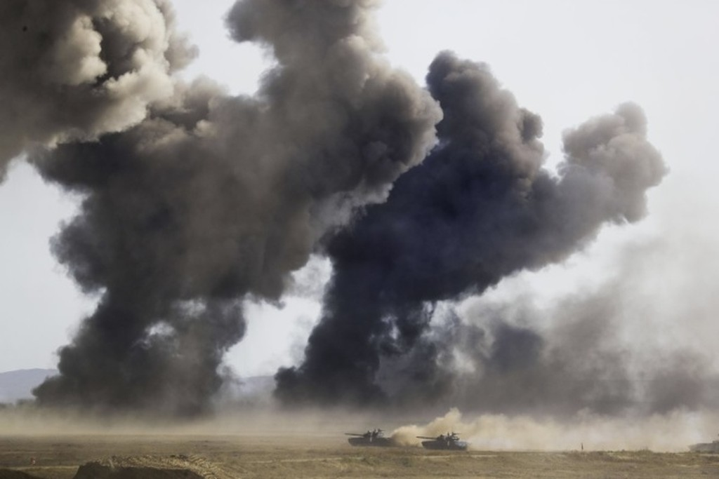 Cuộc tập trận phô diễn sức mạnh của Nga ở Crimea - ảnh 9