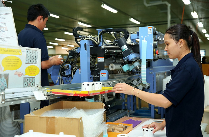Tốc độ tăng chỉ số sản xuất công nghiệp chậm hơn cùng kỳ năm trước. Ảnh: Lê Tiên