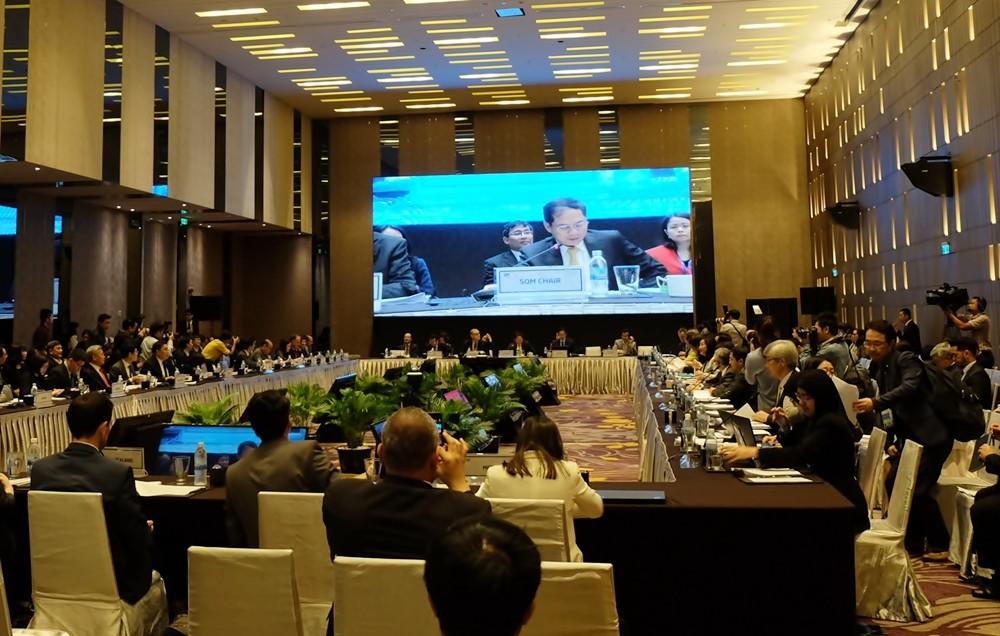 Khai mạc Hội nghị lần thứ nhất quan chức cao cấp APEC 2017 - ảnh 1