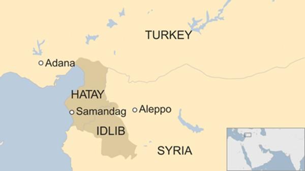 Chiến đấu cơ Syria rơi gần biên giới Thổ Nhĩ Kỳ, nghi bị bắn - ảnh 1