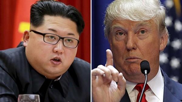 Lãnh đạo Triều Tiên Kim Jong-un và Tổng thống Mỹ Donald Trump. Ảnh: Reuters