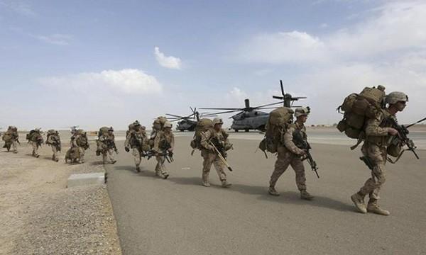 Binh sĩ thủy quân lục chiến Mỹ. Ảnh:US Army
