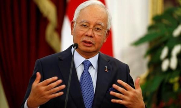 Thủ tướng Malaysia Najib Razak. Ảnh:Reuters.