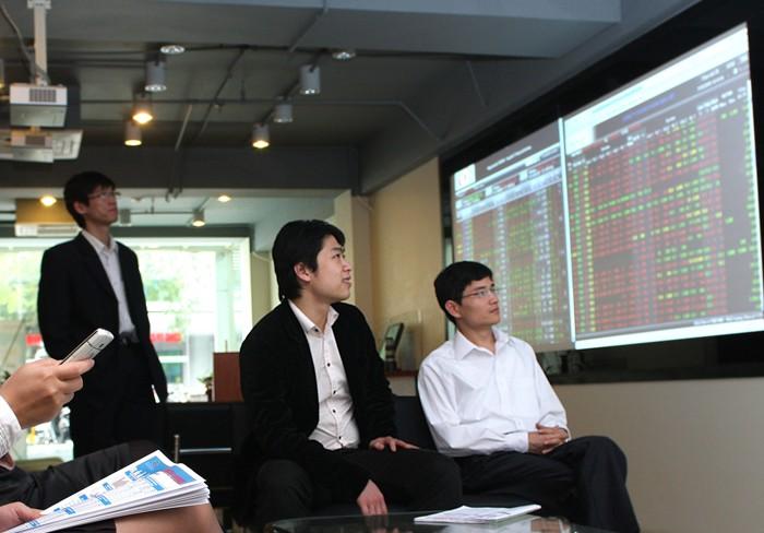 Vốn hóa trên thị trường chứng khoán hiện tương đương 50,3% GDP. Ảnh: Nhã Chi