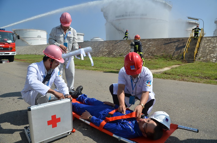 Nhà máy Lọc dầu Dung Quất đạt 10 triệu giờ công an toàn - ảnh 1