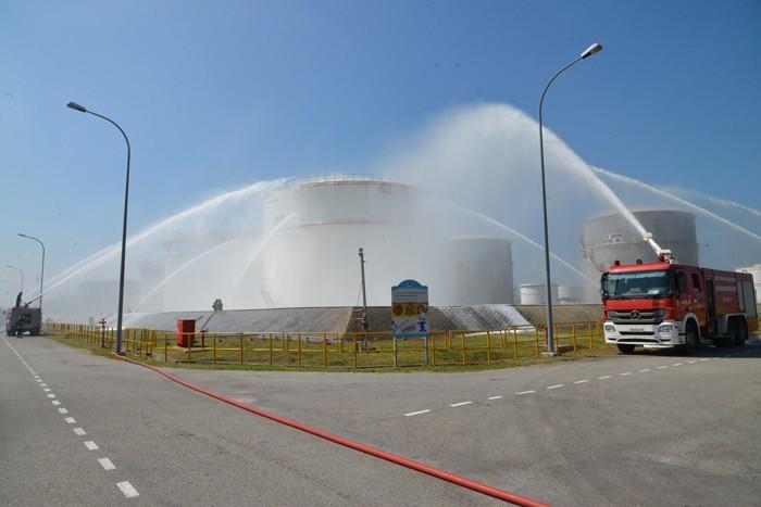 Nhà máy Lọc dầu Dung Quất đạt 10 triệu giờ công an toàn - ảnh 2