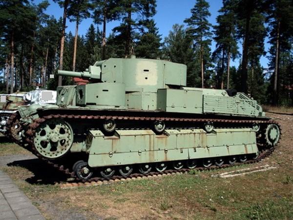 Mẫu xe tăng 5 tháp pháo độc đáo của Liên Xô - ảnh 2