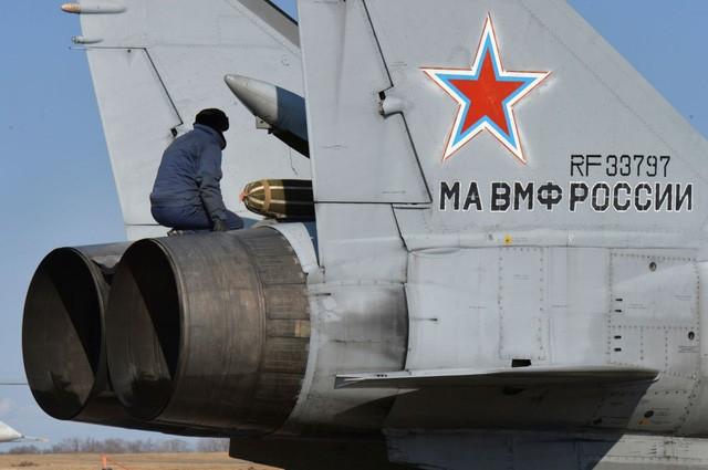 """""""Sát thủ đánh chặn"""" MiG-31 của Nga tập trận ở Viễn Đông - ảnh 2"""