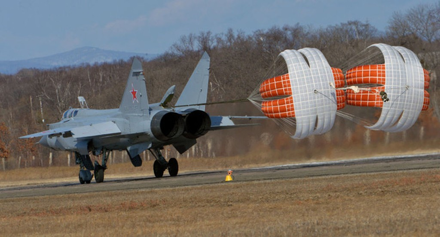 """""""Sát thủ đánh chặn"""" MiG-31 của Nga tập trận ở Viễn Đông - ảnh 5"""