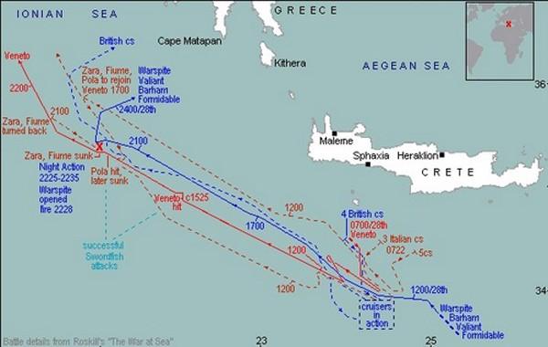 Trận hải chiến nhấn chìm tham vọng bá chủ Địa Trung Hải của Italy - ảnh 1