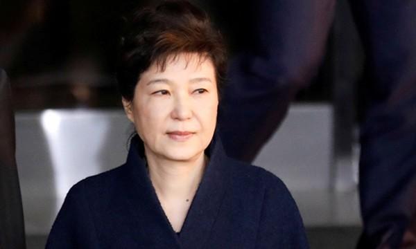 Cựu tổng thống Hàn Quốc Park Geun-hye. Ảnh:Reuters