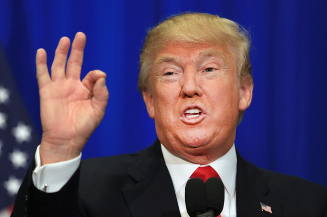 Tổng thống Mỹ Donald Trump. (Ảnh: Getty)