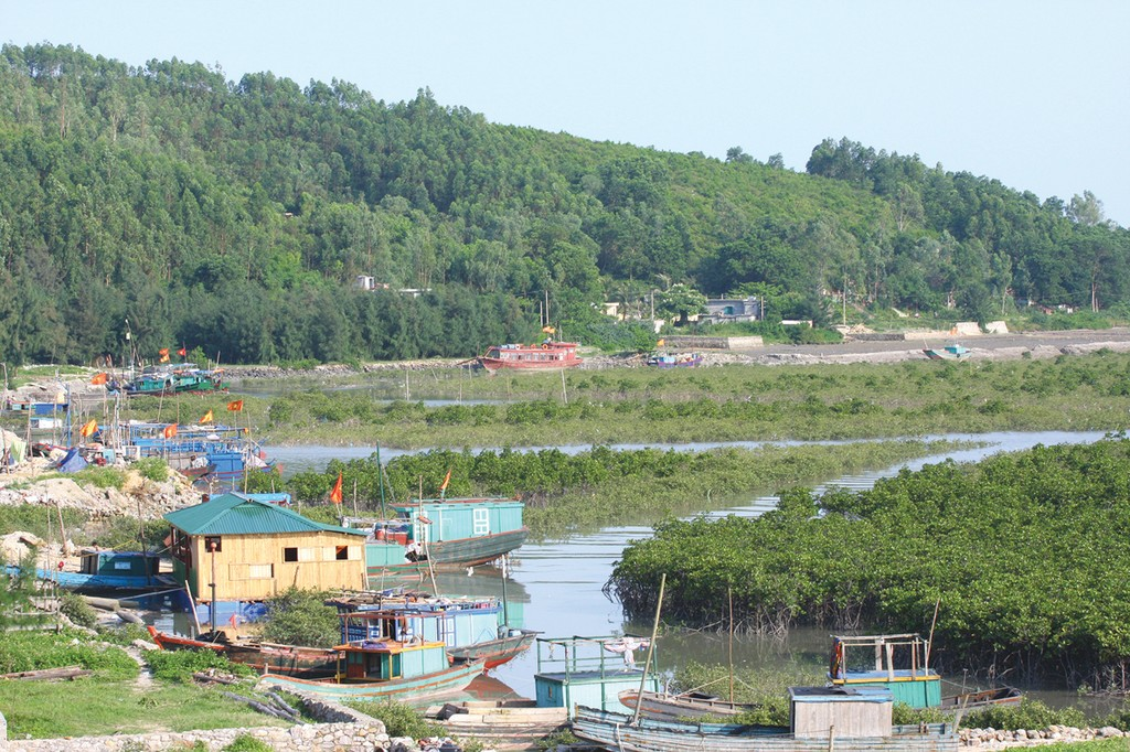 Vân Đồn (Quảng Ninh) là một trong 3 địa phương được Chính phủ lựa chọn thí điểm lập khu hành chính - kinh tế đặc biệt. Ảnh:Tiên Giang
