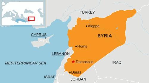 Quân đội Syria lần đầu tiên bắn cháy xe tăng phiến quân - ảnh 1