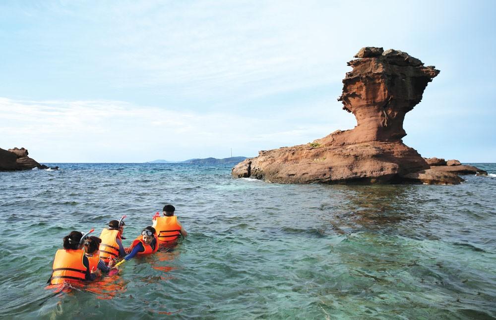 Điều kiện tự nhiên của Phú Quốc được đánh giá hơn cả Phulet của Thái Lan hay Bali của Indonesia. Ảnh: Lê Tiên