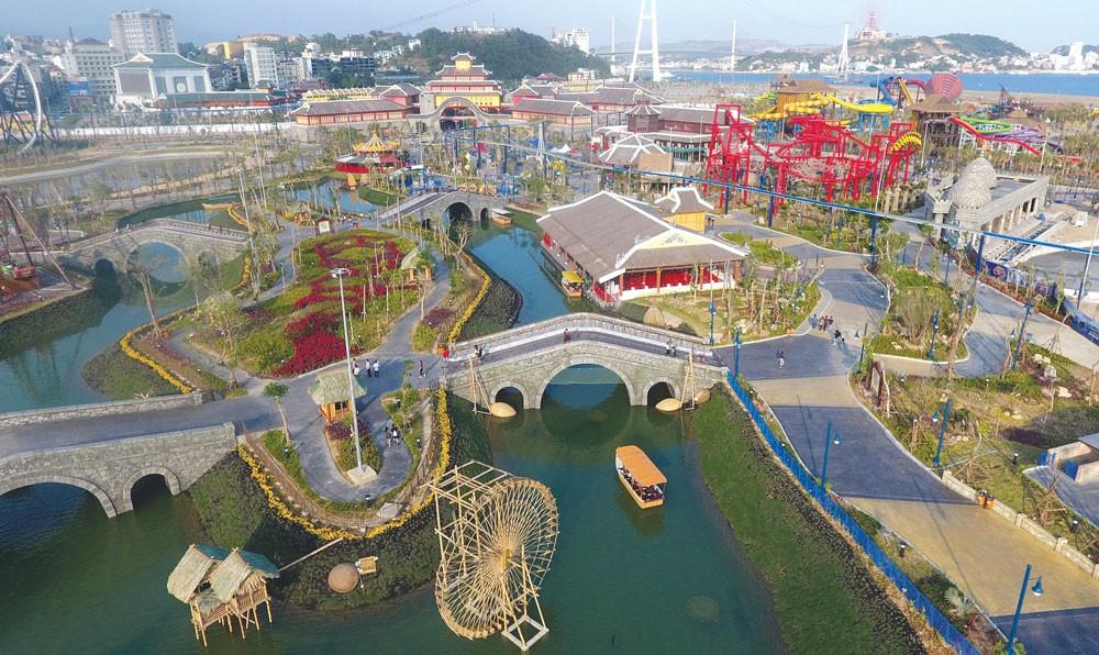 Sun World Halong Complex - Khu vui chơi quy mô lớn được Sun Group xây dựng tại Hạ Long, Quảng Ninh