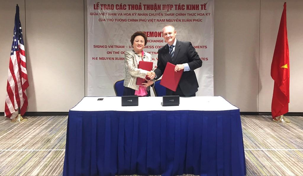 Tập đoàn BRG và Hilton Worldwide tiếp kiến Thủ tướng Nguyễn Xuân Phúc - ảnh 1