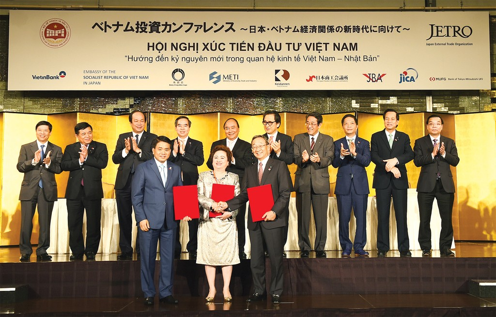 Thỏa thuận hợp tác phát triển Dự án Đô thị Nhật Tân - Nội Bài được ký kết dưới sự chứng kiến của Thủ tướng Nguyễn Xuân Phúc