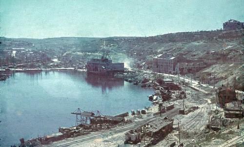 Cảng Sevastopol sau chiến dịch vây hãm của Đức. Ảnh: Wikipedia.