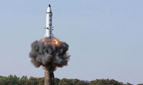Triều Tiên đạt được nhiều thành tựu trong công nghệ tên lửa. Ảnh:Reuters.