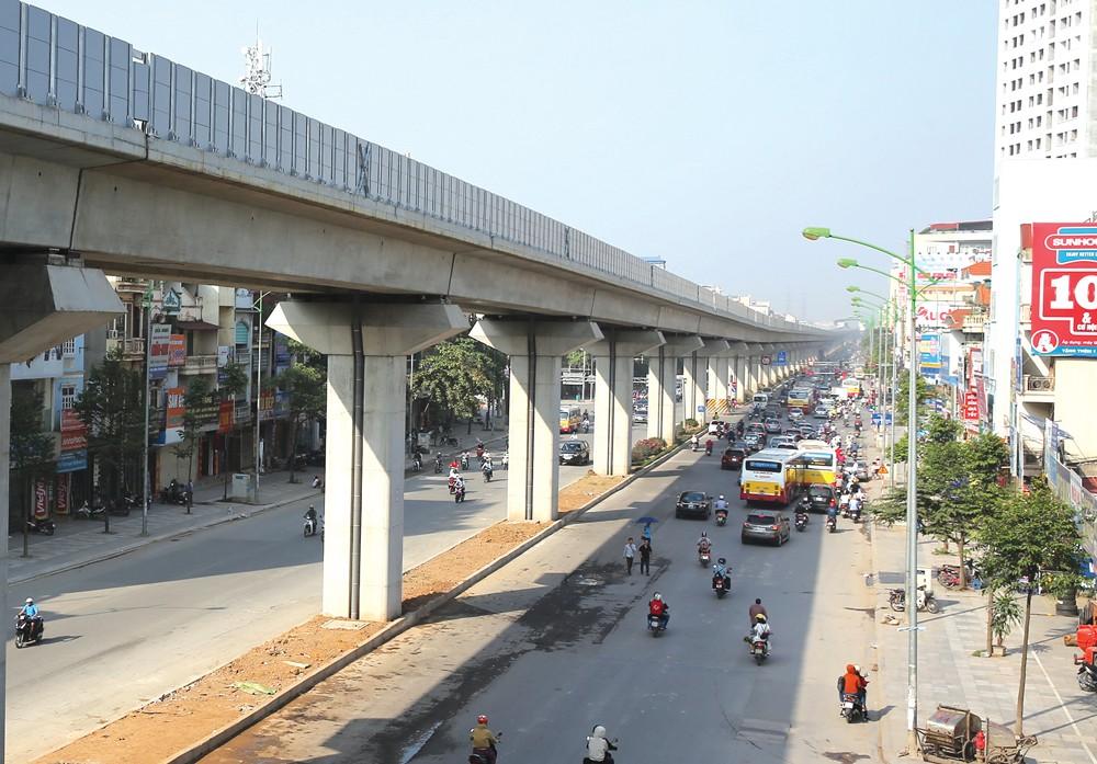 Hà Nội chuẩn bị triển khai thêm 4 dự án đường sắt đô thị trong giai đoạn 2017 – 2020. Ảnh: Gia Khoa