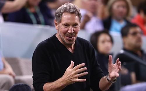 Tỷ phú Larry Ellison - nhà sáng lập, chủ tịch của hãng phần mềm Oracle - Ảnh: Getty Images.