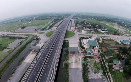 Đường cao tốc Cầu Giẽ - Ninh Bình.