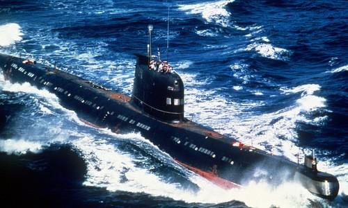 Tàu ngầm Liên Xô là nỗi sợ hãi cho hải quân các nước NATO. Ảnh:National Interest.