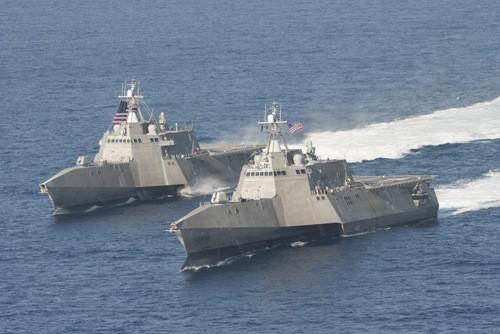 Mẫu khinh hạm thay thế tàu chiến đấu ven biển gây thất vọng của Mỹ - ảnh 1