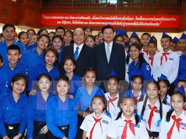 Thủ tướng Lào hài lòng với sự phát triển quan hệ với Việt Nam - ảnh 1