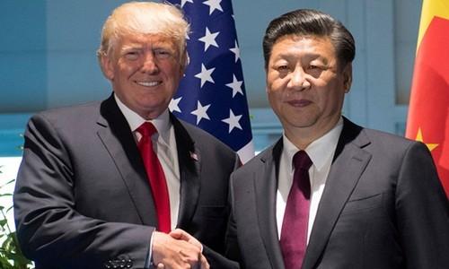 Tổng thống Mỹ - Donald Trump và Chủ tịch Trung Quốc - Tập Cận Bình. Ảnh:Reuters