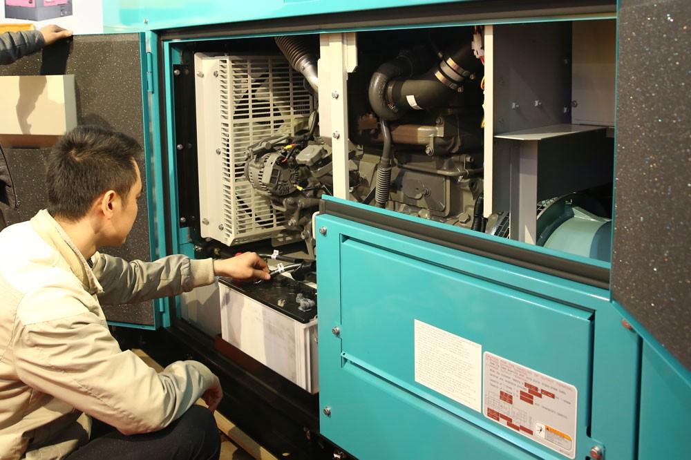 """Gói thầu số 28: """"Cung cấp lắp đặt máy phát điện"""" thuộc Dự án Trung tâm vì sự phát triển phụ nữ Đồng bằng sông Cửu Long. Ảnh: Nhã Chi"""