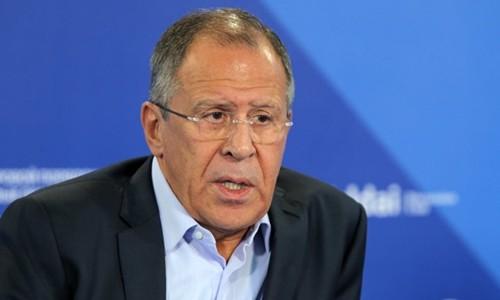 Ngoại trưởng Nga Sergei Lavrov. Ảnh:RIA Novosti.
