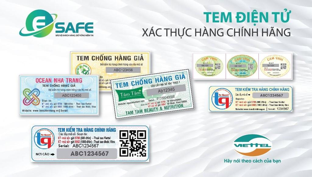 Viettel chính thức cung cấp tem điện tử Esafe