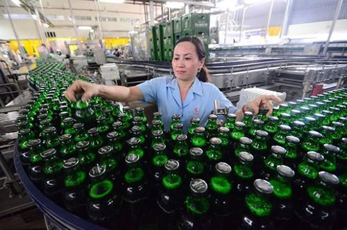 Doanh thu bán bia của Sabeco giai đoạn nửa đầu năm 2017 tăng 5,5% so với cùng kỳ.