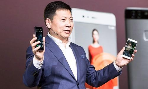 Richard Yu tham vọng đưaHuawei chiếm lĩnh thị trường smartphone thế giới.
