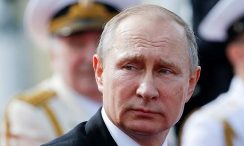 Tổng thống Nga Putin. Ảnh:Reuters.