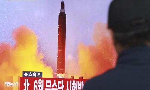 Tổng thống Mỹ lên án Trung Quốc khi Triều Tiên phóng tên lửa đạn đạo xuyên lục địa thứ hai. Ảnh minh họa:AP.