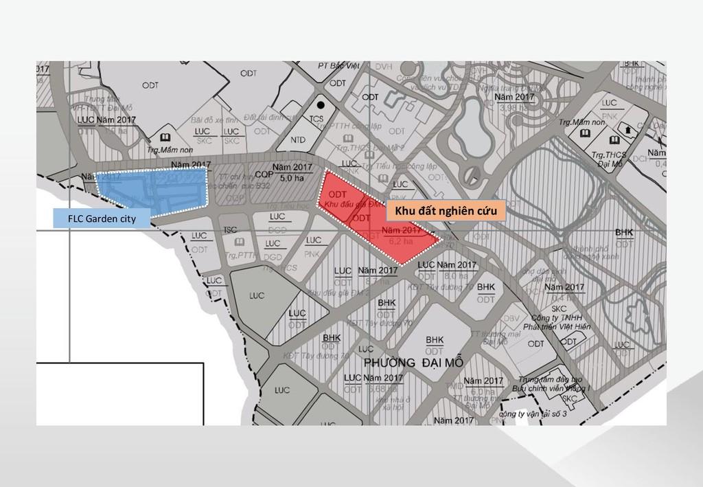 Vì sao mảnh đất tại Đại Mỗ, Nam Từ Liêm được FLC mua 860 tỷ đồng? - ảnh 1