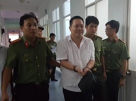 Bị can Nguyễn Huỳnh Đạt Nhân khi bị bắt có thái độ rất ngạo mạn